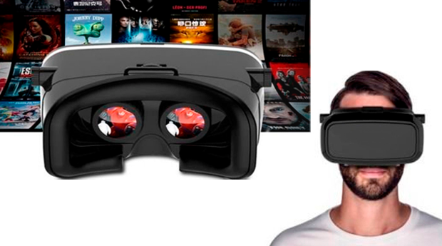 Óculos de Realidade Virtual 3D para Smartphone!