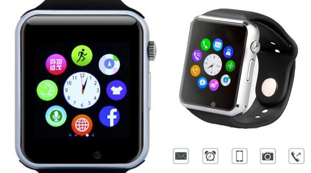 Relógio Smartwatch com Câmara Incorporada!