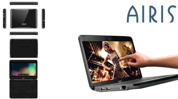 Computador Portátil Novo Com Ecrã Tactil Airis Kira Dual Core de 10.1 Polegadas!