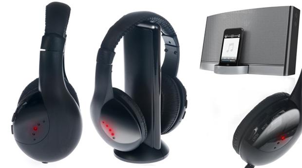 Headphones sem Fios! Tecnologia Wireless Para Mais Liberdade!
