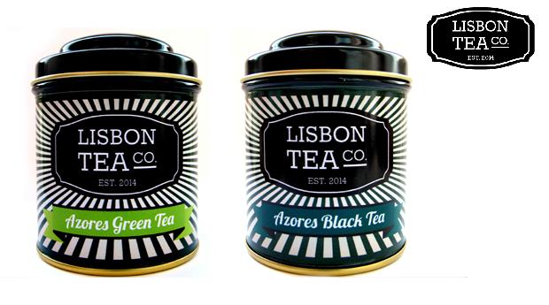 Pack de 5 Chás Lisbon Tea Co.! Detox; Relaxamento; Energia; Chá Preto Açores e Chá Verde Açores!