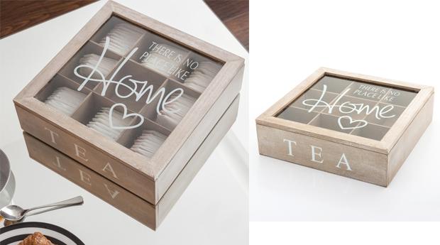 Caixa de Chá! 2 Modelos à Escolha!