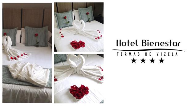 Guimarães Especial Namorados -  1 ou 2 Noites Românticas com Jantar e Piscina Termal no Hotel Bienestar!