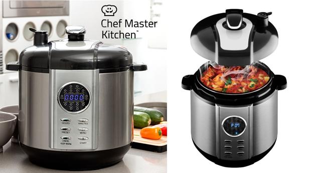 Robôt de Cozinha Smart Pressure, Chef Master Kitchen!