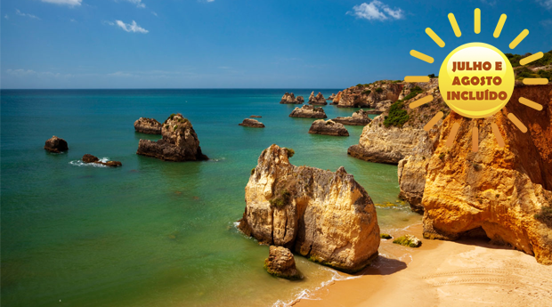 Clube Praia da Rocha, Portimão -  2, 3, 5 ou 7 Dias para 2 Adultos e 2 Crianças!