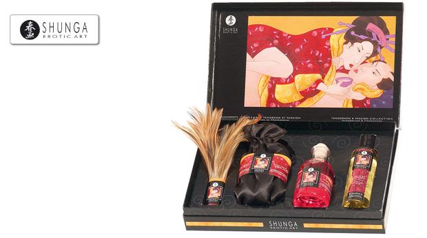 Conjunto Amor e Paixão da Shunga Erotic Art!