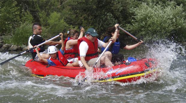 S.Valentim Radical! Rafting no Rio Guadiana!