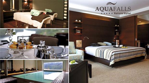 Gerês Aquafalls Spa Hotel 5*! 1, 2 ou 3 Noites com Circuito de Spa no Aquafalls Spa Hotel Rural!