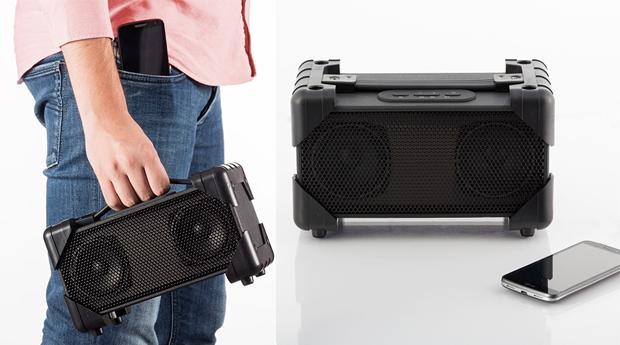 Coluna de Som com Ligação Bluetooth Boombox!